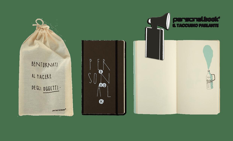 personalbook oggetti