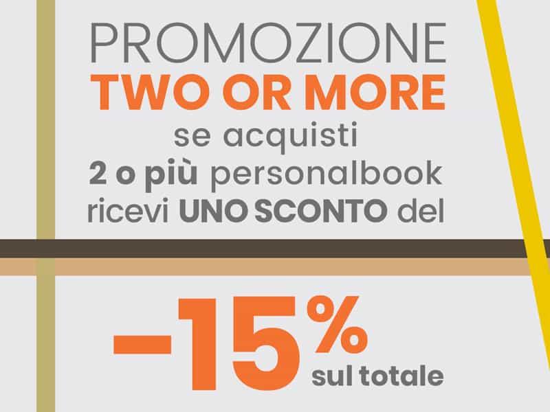 personalbook promozione acquisti